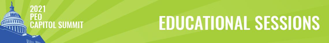 PEO Capitol Summit 2021 Education